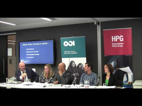 Private funding of humanitarian aid: is this the future? - Part 2 (Audience Q&A)