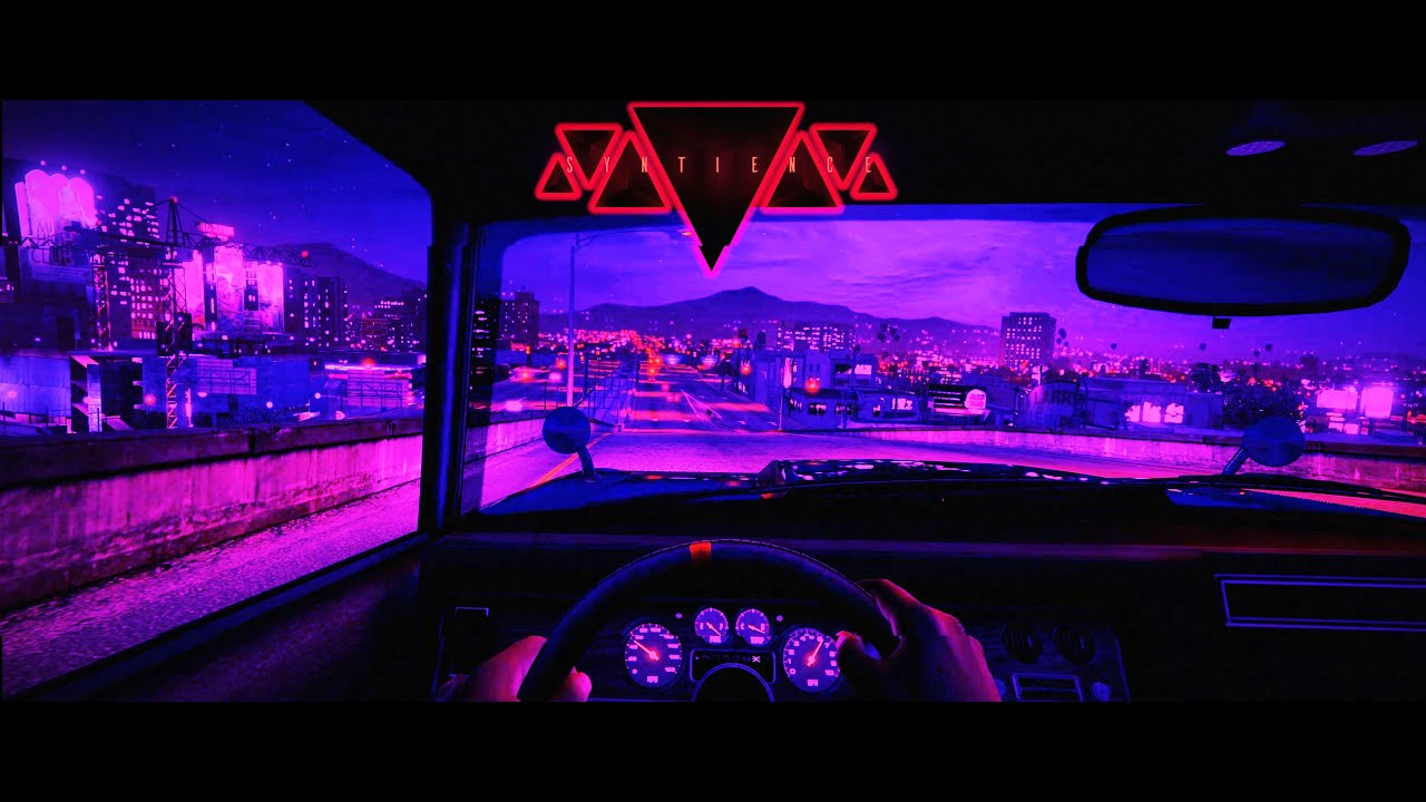 Syntience Technosignature Synthwave Darkwave A Night Drive In Gta5 Youtube