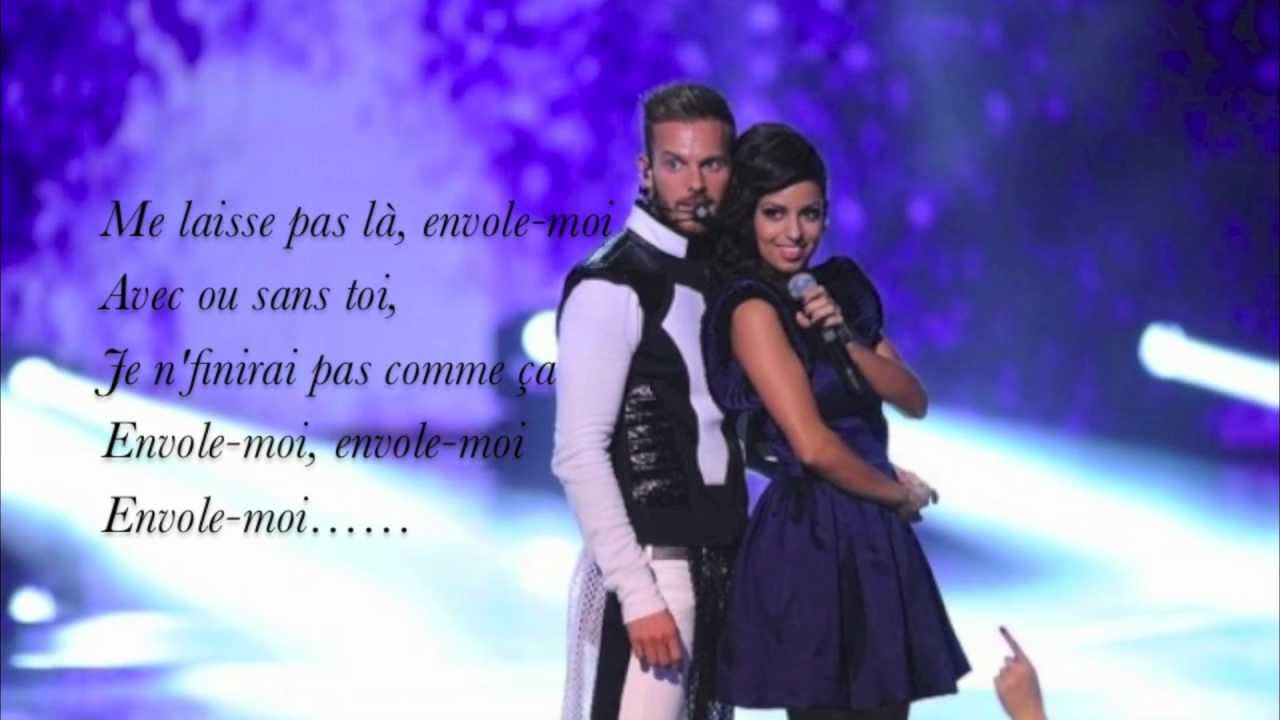 "Matt Pokora & Tal - Envole moi ""Lyrics"" - YouTube"