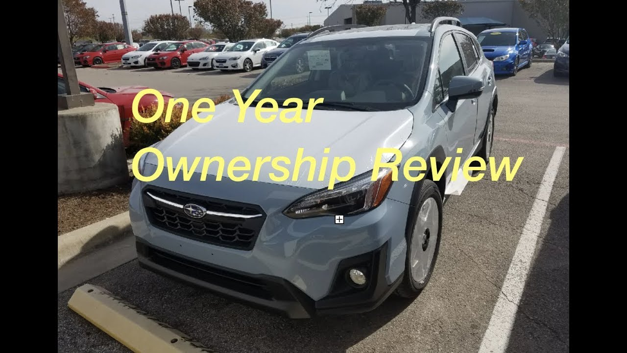 One Year Ownership Review 2018 Subaru Crosstrek