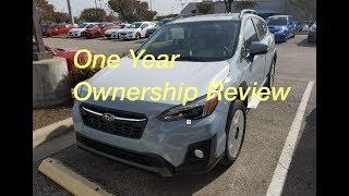 One Year Ownership Review 2018 Subaru Crosstrek
