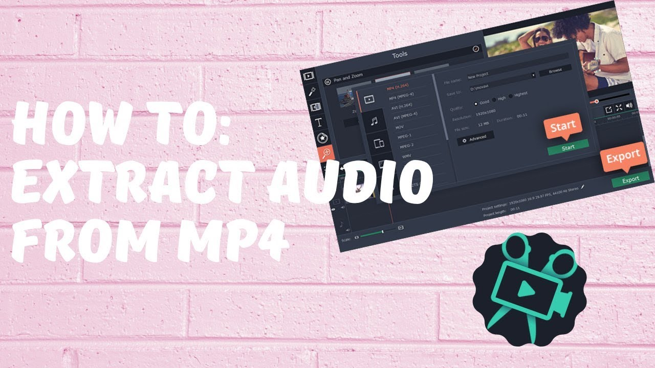 Extract Audio From Mp4