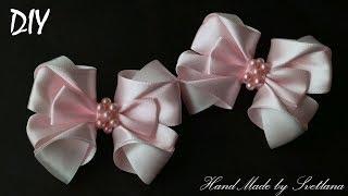 В этом видео я покажу как сделать нежные и милые бантики... Материа...