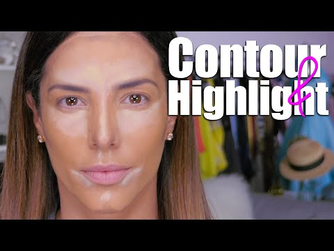 HOW TO: CONTOUR & HIGHLIGHT | GABY ESPINO TV