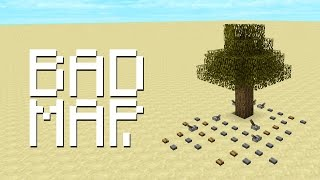 Bad Minecraft Map