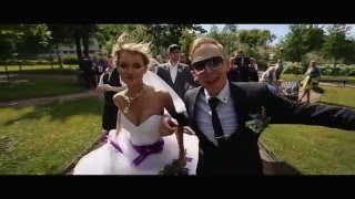 Самый зажигательный свадебный клип Дениса и Елены PSY