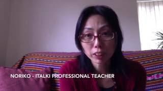 Video Italki - NORIKO - Japanese Professional Teacher download MP3, 3GP, MP4, WEBM, AVI, FLV November 2017
