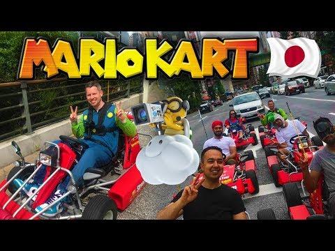 REAL LIFE MARIO KART in TOKYO! JAPAN VLOG!