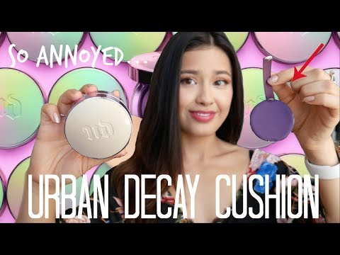 Urban Decay Naked Skin Glow Cushion Foundation Review thumbnail