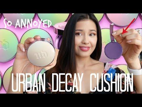 Urban Decay Naked Skin Glow Cushion Foundation Review thumbnail