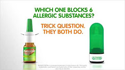 The Differences Between Allergy Nasal Sprays | RHINOCORT® Allergy Spray