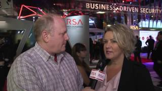 Live From RSA Conference - Holly Rollo on Business-Driven Security