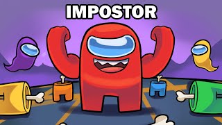 AMONG US, but THE IMPOSTOR is OVERPOWERED!