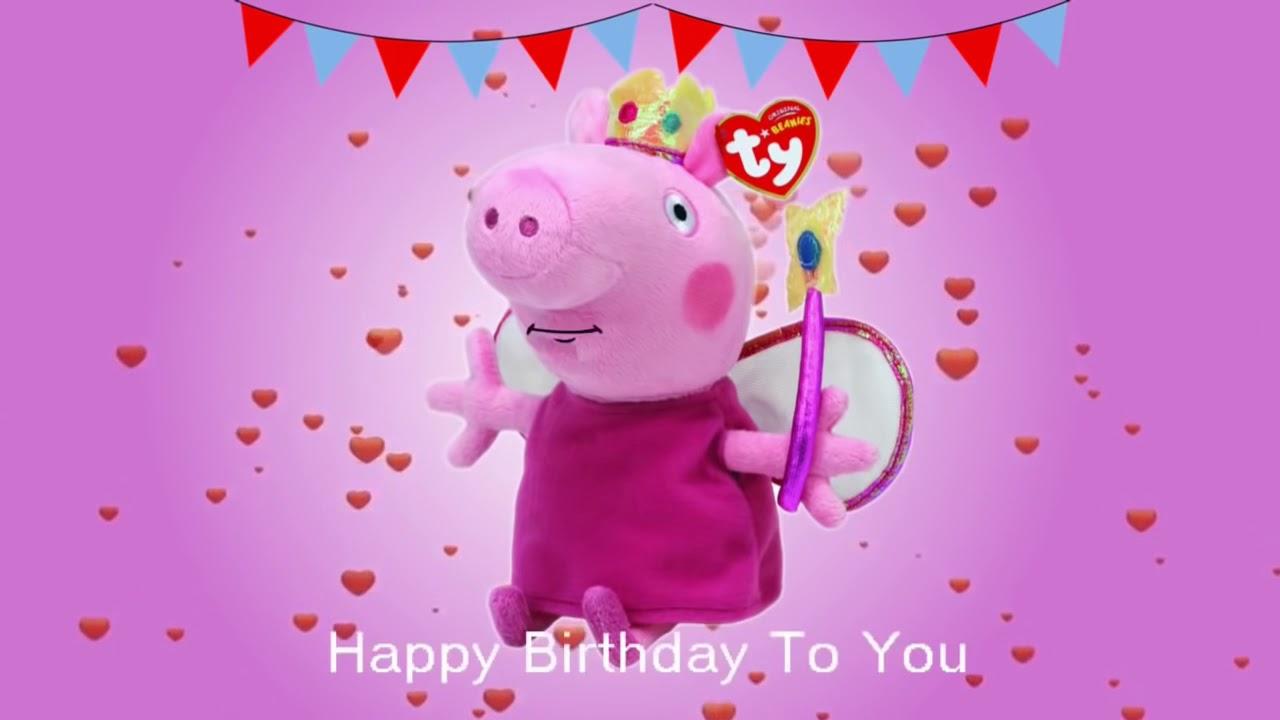 Peppa Pig Happy Birthday Song 2018 Youtube