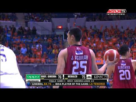 PBA Govs Cup  Highlights: Ginebra vs Meralco Oct. 18, 2017