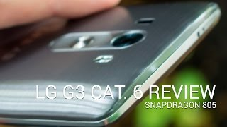 lG G3 Cat. 6 (Snapdragon 805) video walkthrough
