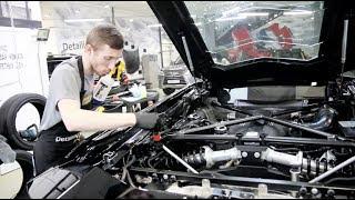Как идеально помыть двигатель? Профессиональная полировка авто!