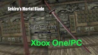 Skyrim SE Xbox One/PC Mods|Sekiro's Mortal Blade