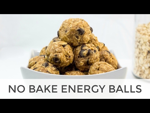 No Bake Oatmeal Energy Balls Recipe With Chocolate Chips
