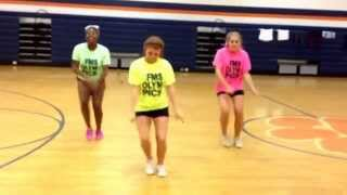 FMS cheer tryout dance 2014-2015