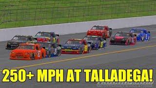 250+ MPH AT TALLADEGA! | iRacing NASCAR COT Fun Race!