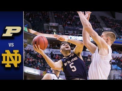 Notre Dame vs. Purdue Men