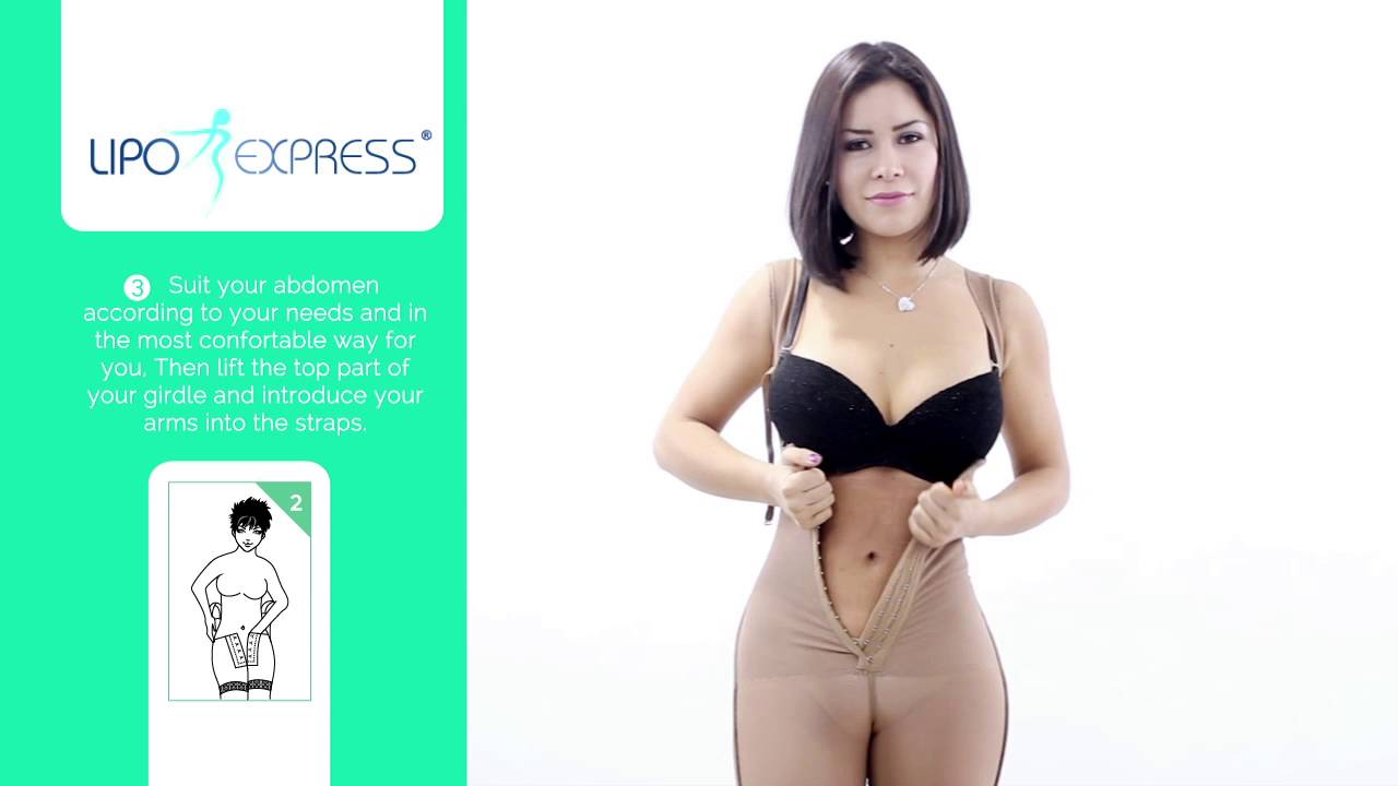 beebe82e16fc8 How to use your Bodyshaper - YouTube