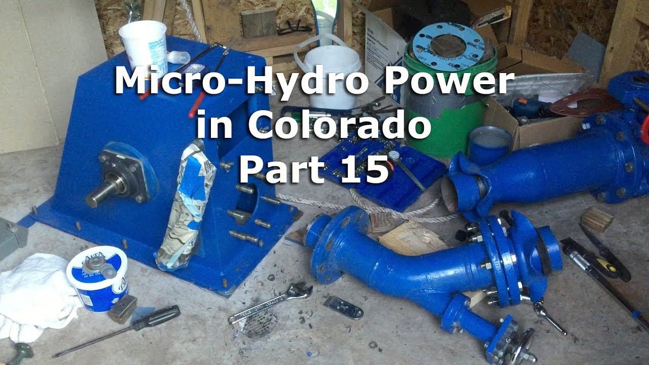 Micro Hydro Electric Power System In Colorado Part 15