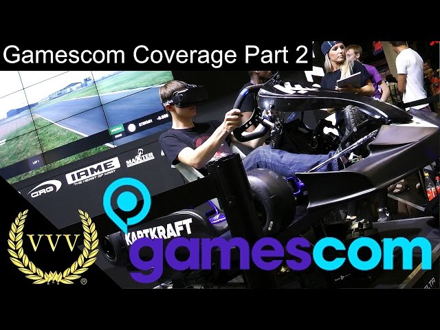 Gamescom 2015 Coverage Part 2