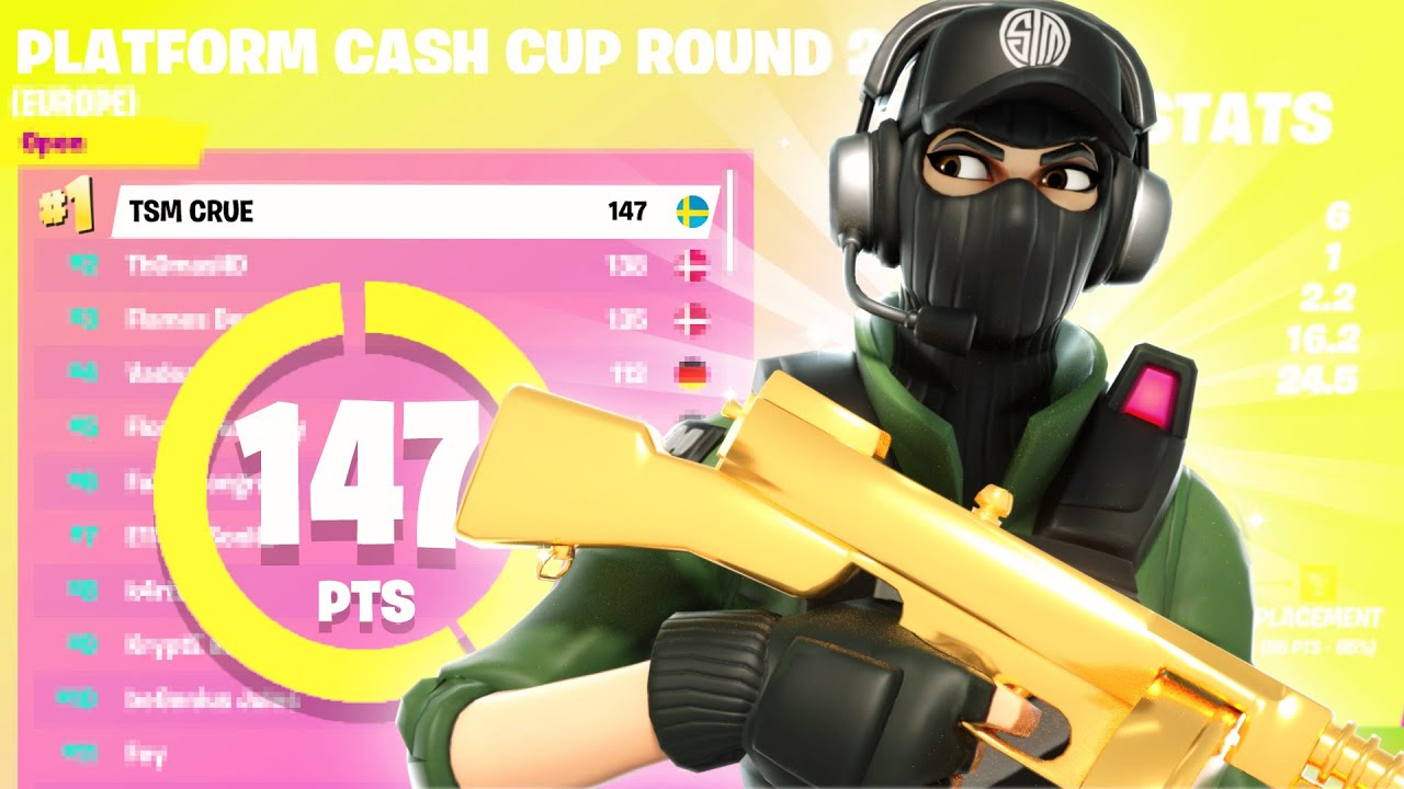 How I WON 1st PLACE in Solo Cash Cup ($5000) | TSM Crue