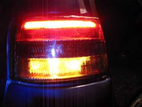 Светодиодные задние фонари на 2111.