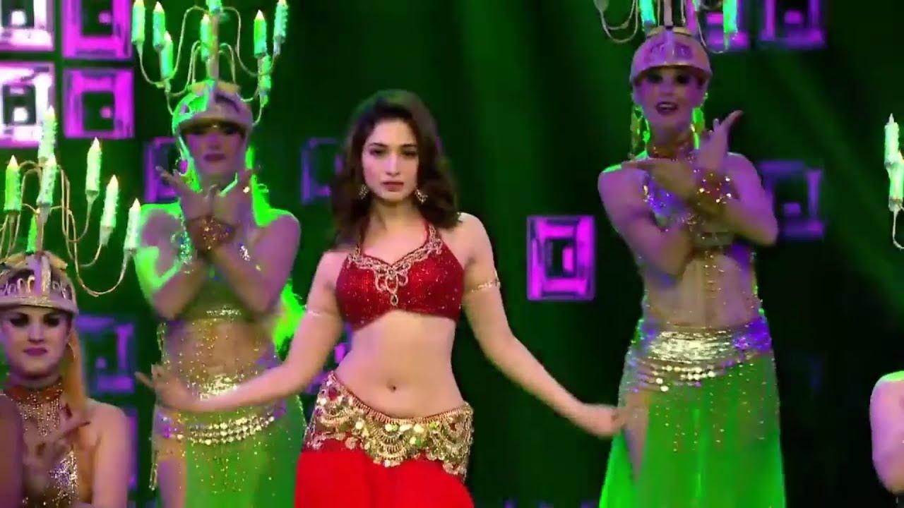 Tamanna Bhatia Hot Navel Dance At Star Screen Awards 2016