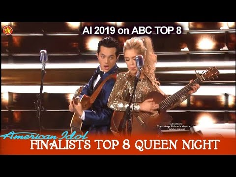 "Laine Hardy & Laci Kaye Booth Duet ""Jackson""  Movie Theme & Queen Night 