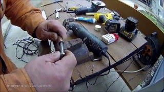 ремонт шланга высокого давления мини-мойки Karcher подручными материалами(, 2016-03-08T12:06:23.000Z)