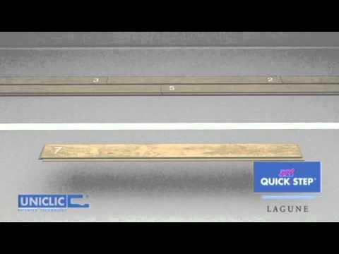 How To Install QuickStep Lagune YouTube - Quick step lagune bathroom laminate flooring