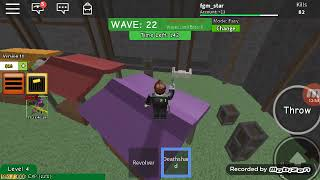 Against all the zombies who are on earth roblox?? [Roblox Indonesia] Zombie attack