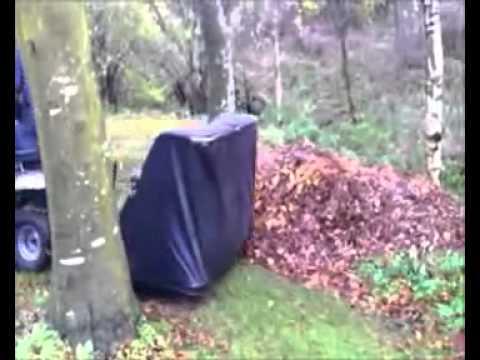 CRAFTSMAN græs og løvopsamler - YouTube