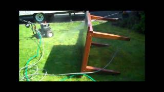 How To Restain Outdoor Wood Furniture