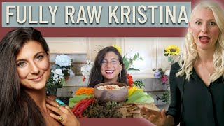 Dietitian Reviews Fully Raw Kristina | What I Ate Today