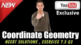 cbse class 10 maths l coordinate geometry l ncert solutions exercise 7 3 q2