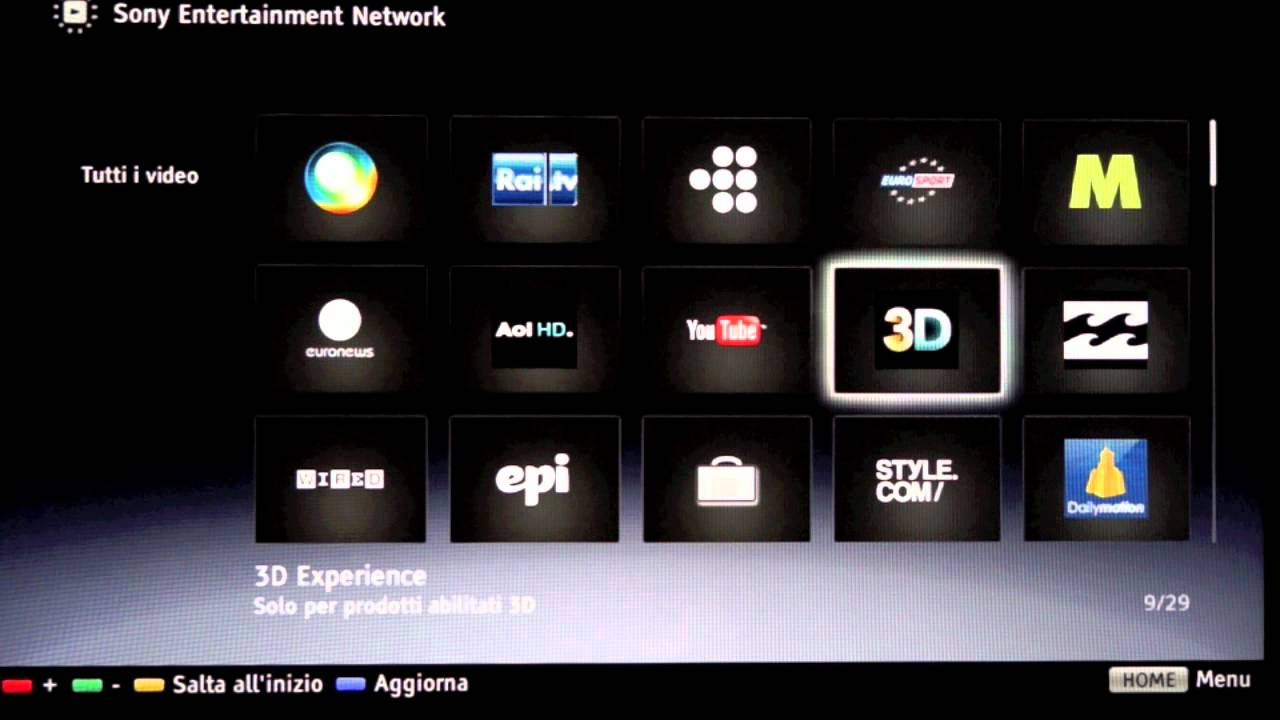 sony smart tv logo. sony smart tv: entertainment network - dday.it tv logo