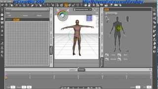 Bewegungen in DAZ Studio Pro 4 mit Puppeteer und PowerPose