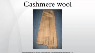Cashmere wool
