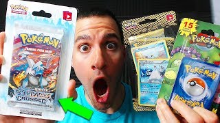OPENING OLD POKEMON CARDS PACKS! (special surprise)