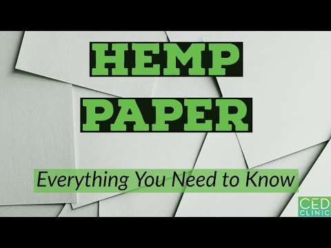 Hemp Paper: Everything You Need to Know