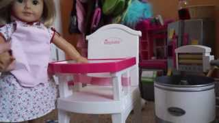 Cleaning A High Chair: American Girl Doll Kit Tips