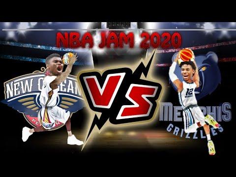NBA JAM 2020 GAMEPLAY | PELICANS VS GRIZZLIES | MODDED | COMING SOON