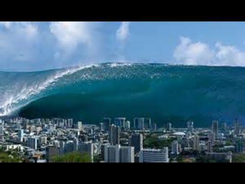Mega tsunami prediction in 2018/2019