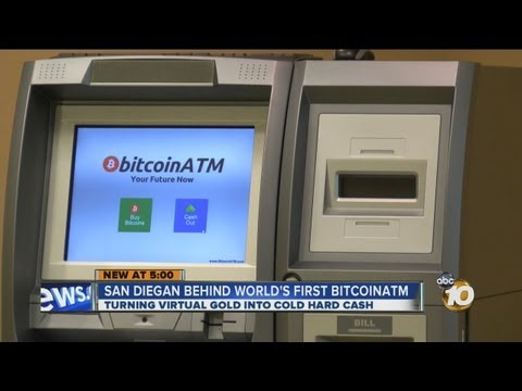 World's First Ever Bitcoin ATM Unveiled In San Diego