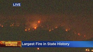 Cameron Peak Fire Is Now Largest Wildfire In Colorado History